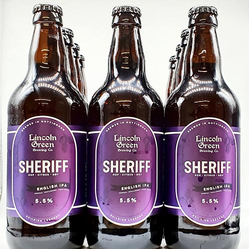Sheriff 5.5% English IPA - Case of 12