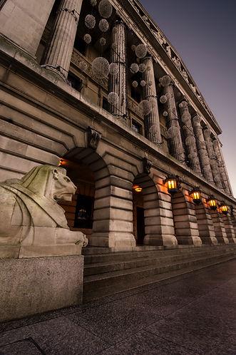 Nottingham Council House Left Lion