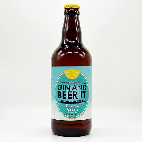 Gin and Beer It 5.0%
