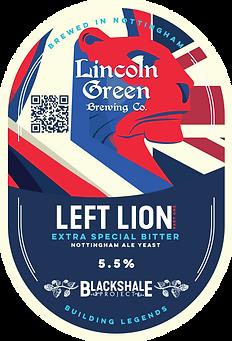 Lincoln Green Left Lion Pump Clip