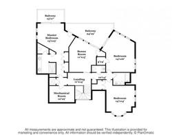 57 Atlantic Upper Level Floorplan