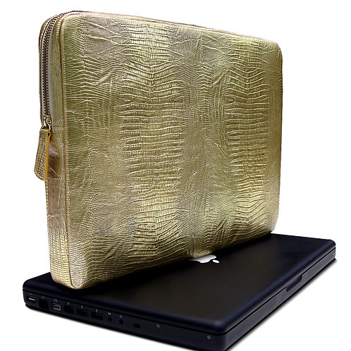 Kena Kai Premium Italian Leather Computer Sleeve / Portfolio