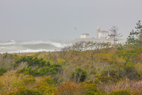 Watch Hill Lighthouse from Niantic, 10.30.17