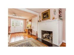 Fireplace Between Dining & Living Rm