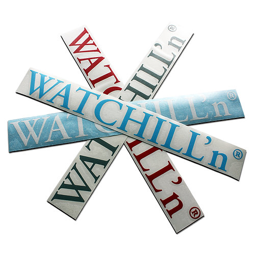 "WATCHILL'n® Sticker       ""Old School"""
