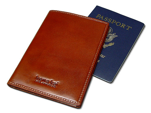 DataSafe® Italian Leather Passport Security Wallets - Black or Brown