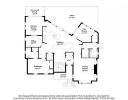 57 Atlantic Main Level Floorplan
