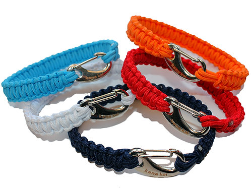 ParaCare 'Skinny' Survival Bracelet or Anklet with Silver Aluminum Hook Clasp