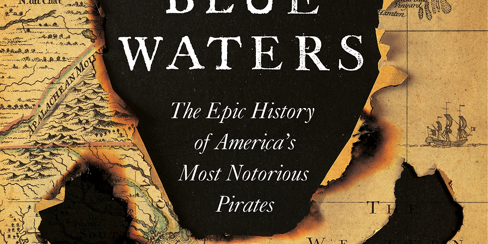 Book Talk & Signing - Black Flags, Blue Waters - by Eric Jay Dolin