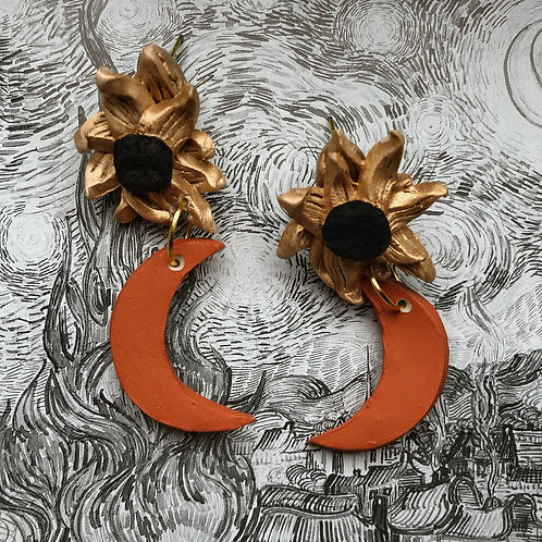 SUNFLOWER MOON - CORAL