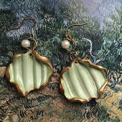 STARRY SHELLS - PASTEL GREEN - SMALL