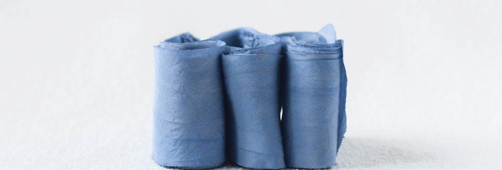 Sapphire - Artisan Silk Ribbon