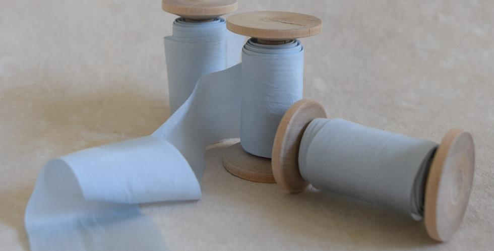 cinderella blue luxury silk ribbon