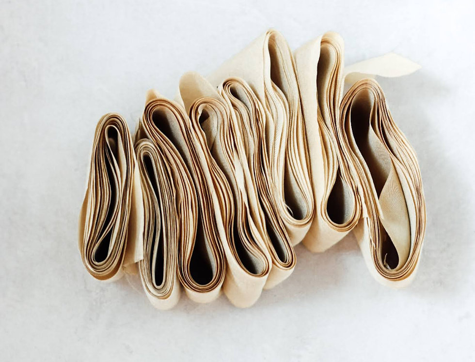 Plage de Sable ( sand ) - Artisan Silk Ribbon