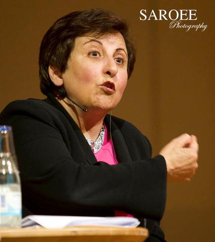 Shirin Ebadi Nobel prize winner for more