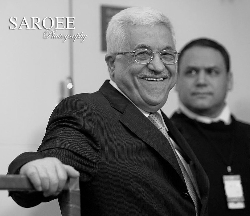 Mahmoud Abbas President of the Palestini