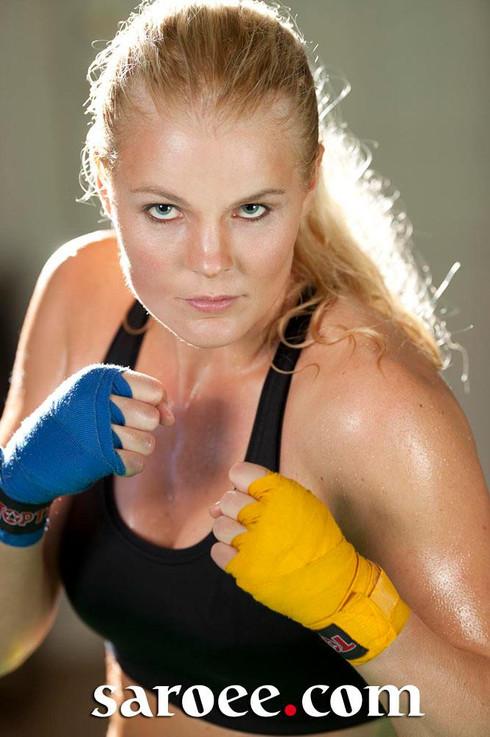 Karin Edenius, Swedish champion in Kickb