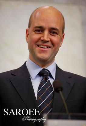 John Fredrik Reinfeldt Prime Minister of