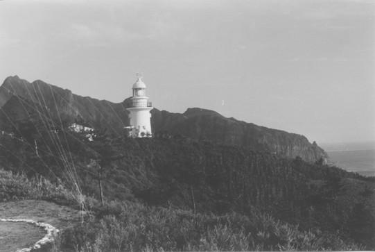 울릉도 등대-1956