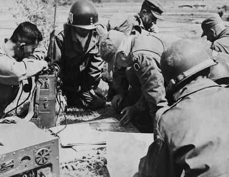 전시작전중인 국군과 유엔군