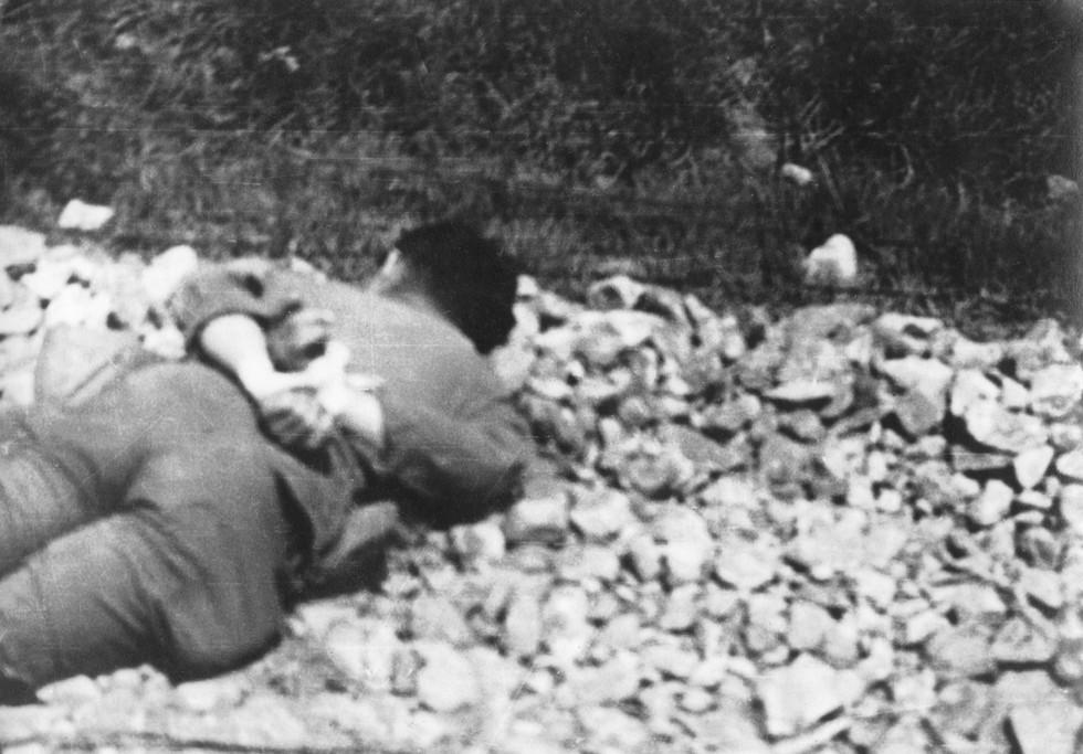 전의부근에서 미군병사의 죽음