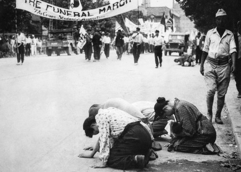 1945년 해방으로 일본인들의 사죄