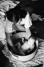 서울 가회동 집에서 - 1953