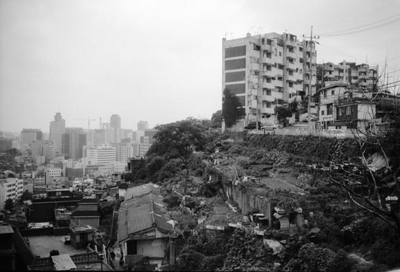 아현동 서민아파트 주변
