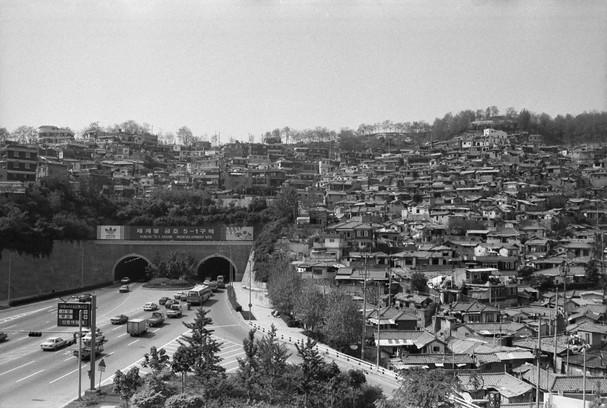 동호대교 터널 주변 금호동