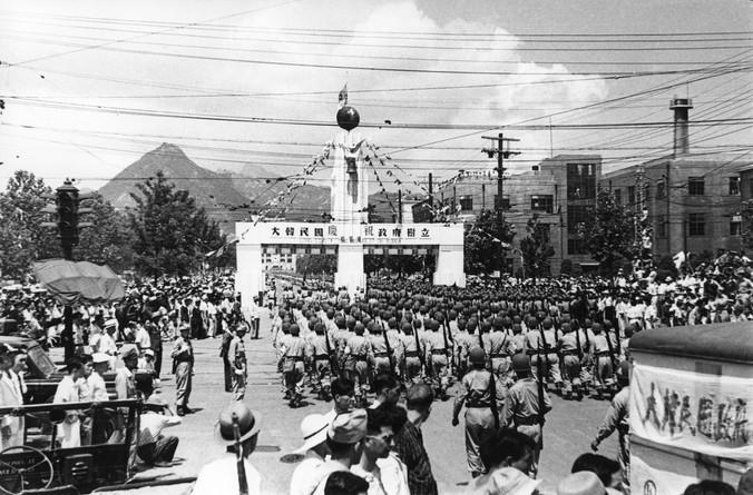 대한민국 정부수립 경축 퍼레이드