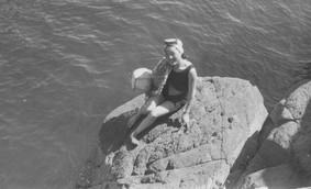 제주도 해녀 - 1957