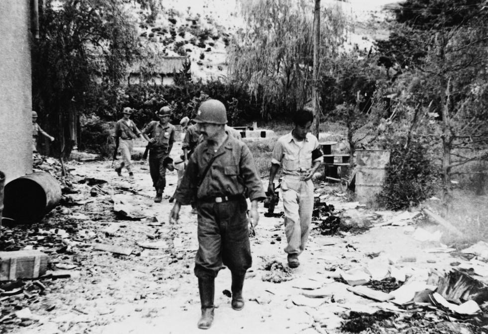 포항전투에서 김석원 장군