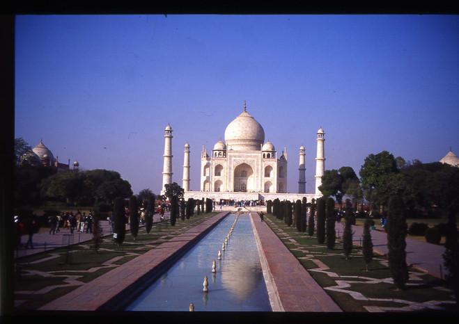 인도 타지마할