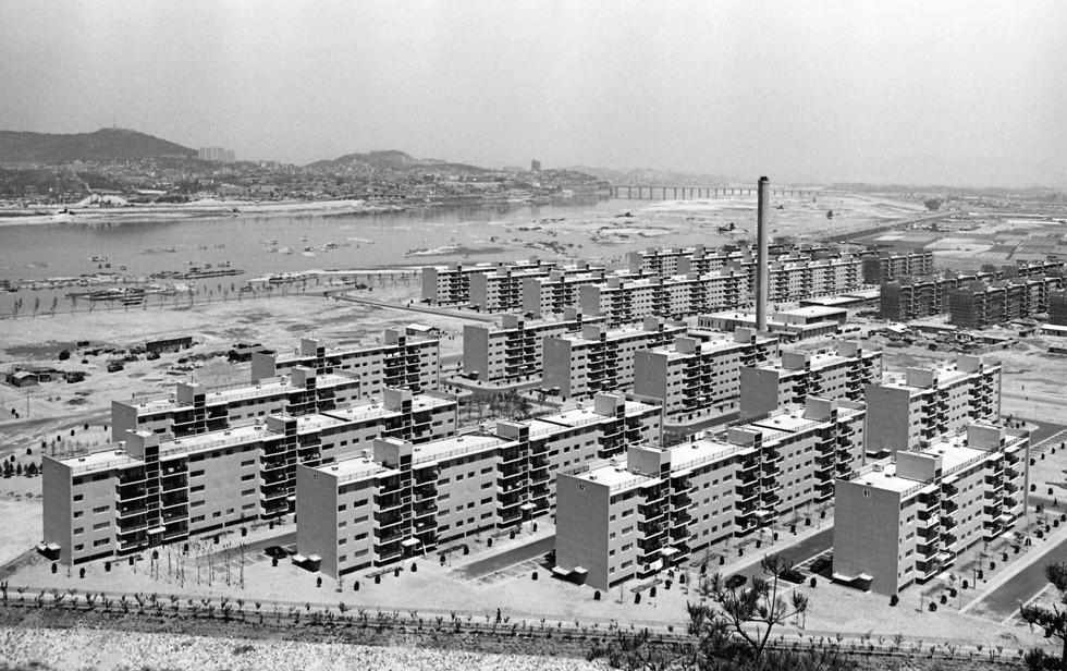 반포아파트단지 1974