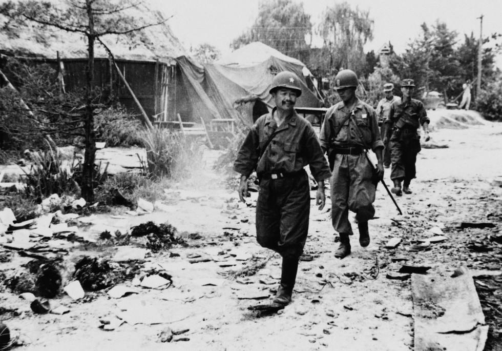 포항전투에서 김석원장군