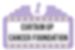 Curtain Up Cancer Foundation Logo