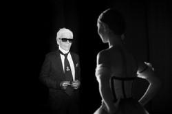 Karl Lagerfeld © Madame Figaro