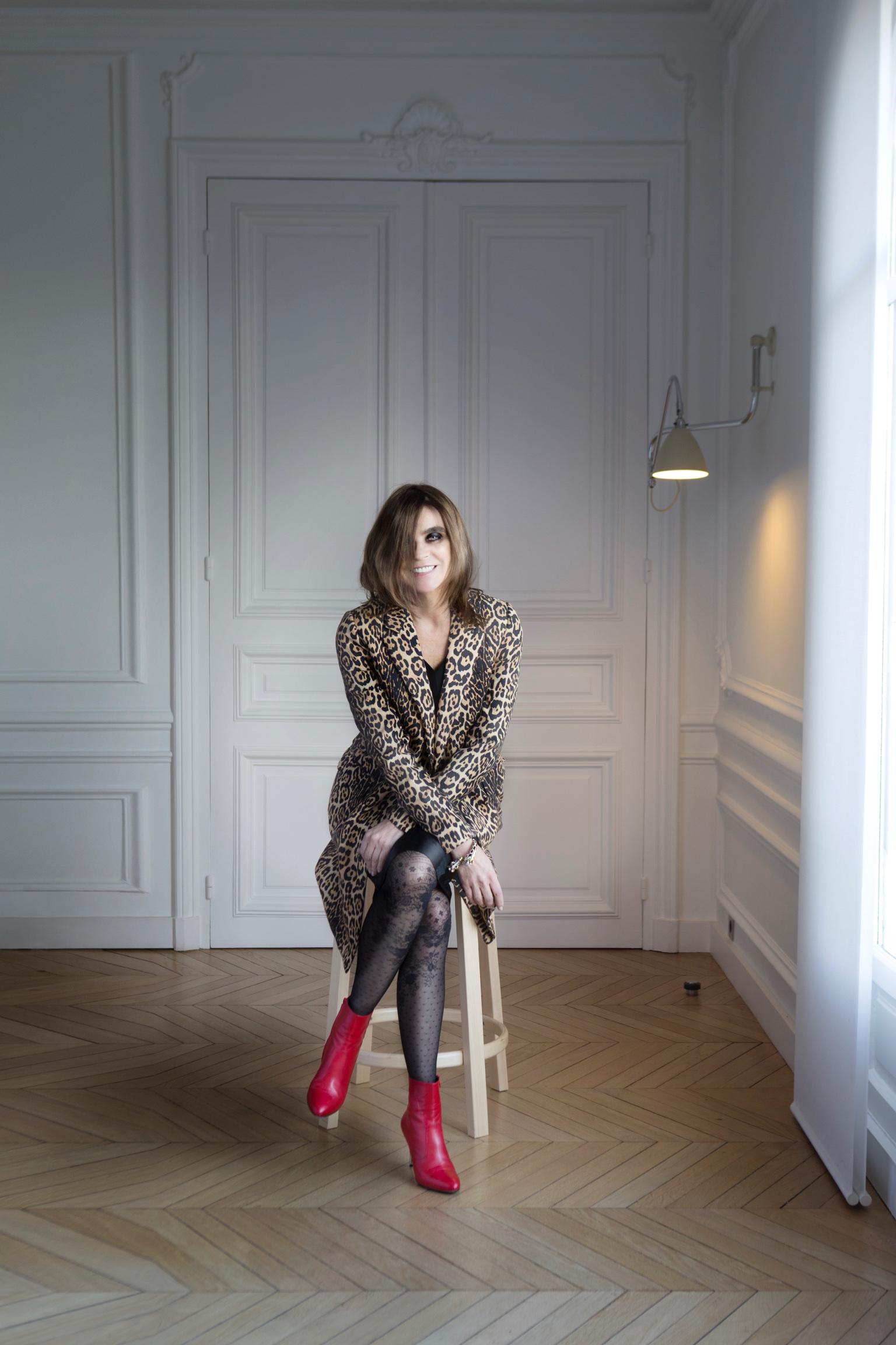 Carine Roitfeld @Madame Figaro