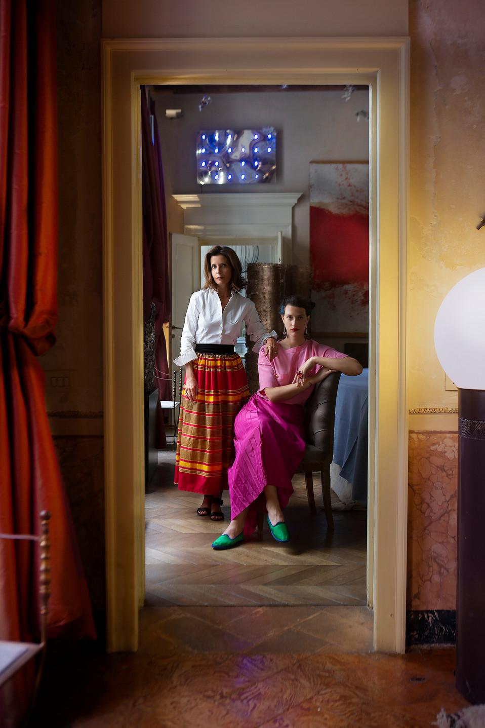 Osana & Madina Visconti ©Madame Figaro