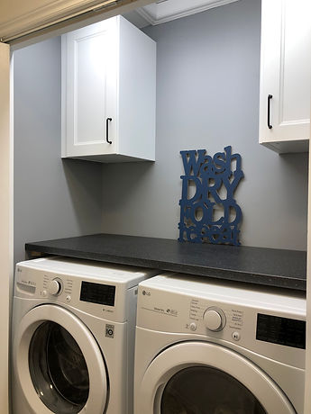 Functional Laundry Closet