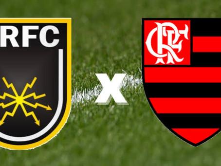 Em clima de decisão, Volta Redonda e Flamengo se enfrentam pela semifinal do Cariocão 2021.