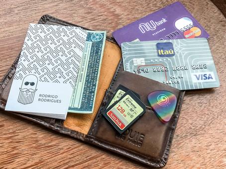 O que tem na sua carteira?