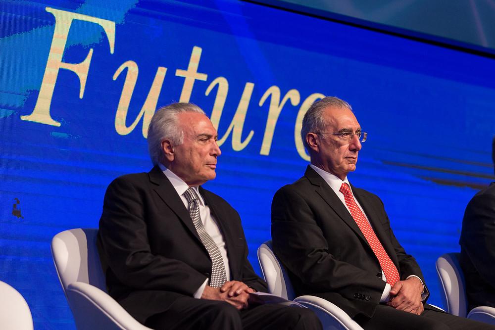 presidente da república, michel temer, presidente temer, presidente rubens hannun, presidentes, forum economico