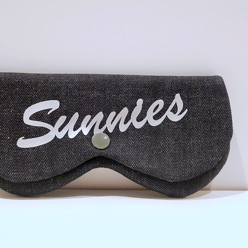 Black Denim Sunnies