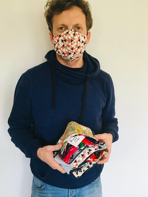 Masques Protection homme 2 épaisseurs