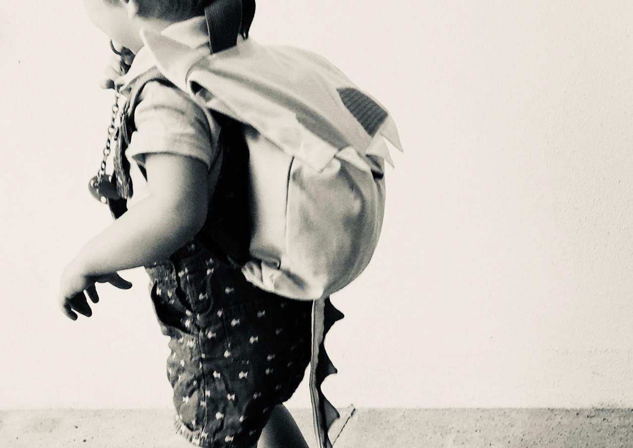 Le sac à dos de Chouchou