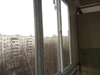 Остекление балкона на ул. Днепропетровская