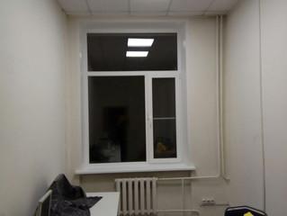 Установка типовых окон в офисном здании на Варшавском шоссе