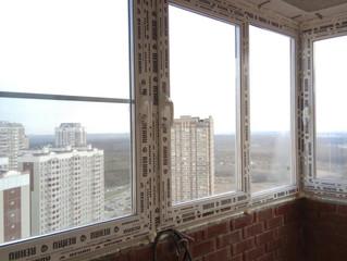 Остекление квартиры в ЖК Бутово Парк