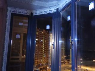 """Остекление эркерного балкона в ЖК """"Государев Дом"""" на ул. Лесная"""